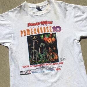 Vintage Knott's Berry Farm Powerhouse 10 Shirt